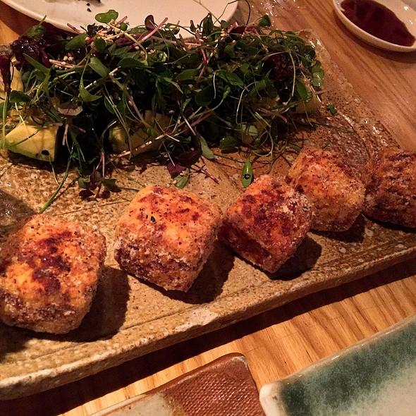 Crispy Tofu & Japanese Herbs
