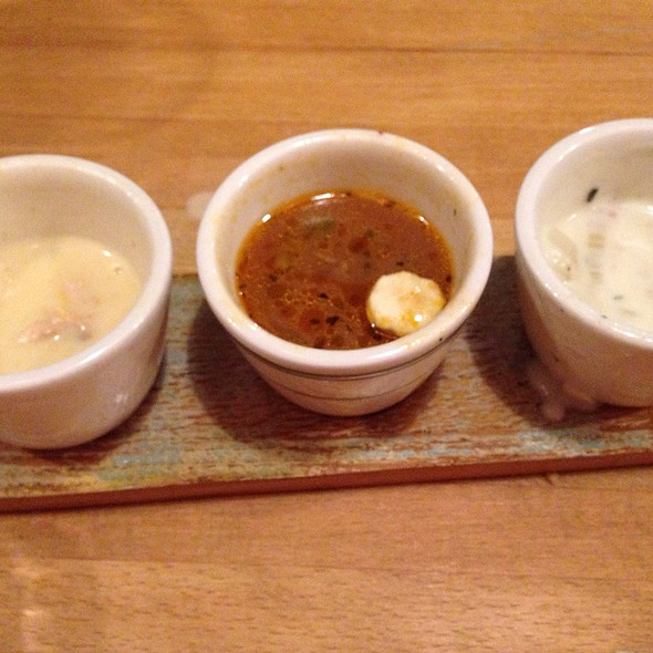Chowder Sampler @ Chowder Room