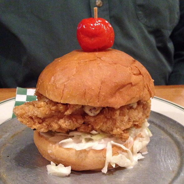 Fried Chicken Sandwich @ Chowder Room