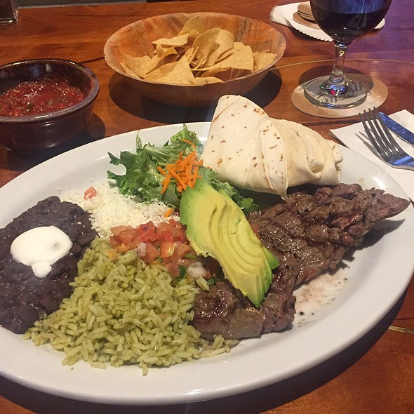carne asada @ Bit & Spur Restaurant and Saloon, Home of the Zion Canyon Farmers Market