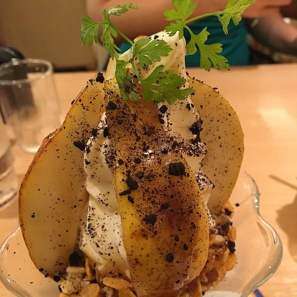 Caramel & Pear Parfait