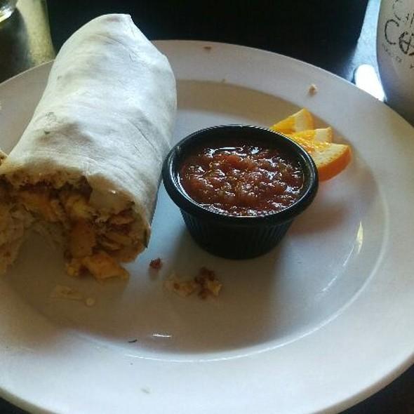 Breakfast Burrito @ Cafe Coda