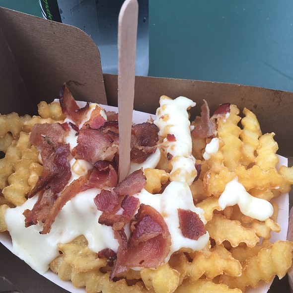 Bacon Chedder Fries