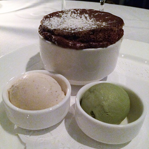 Chocolate Souffle - Valbella, New York, NY