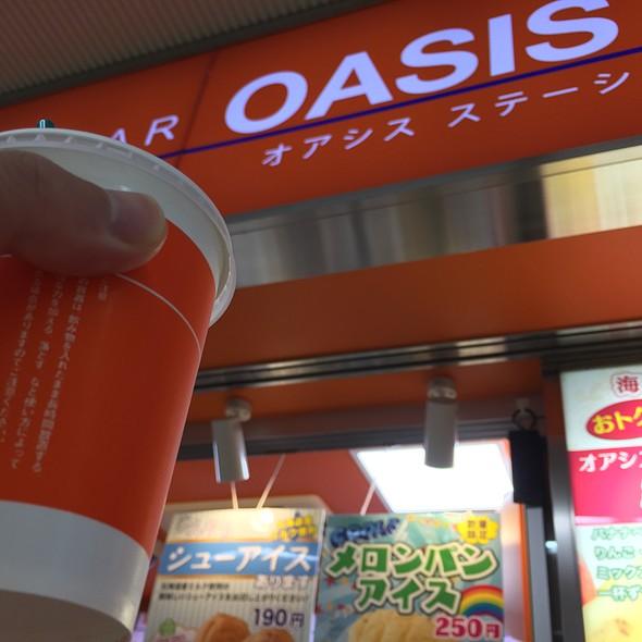 アイスコーヒー @ オアシスステーション 海老名店
