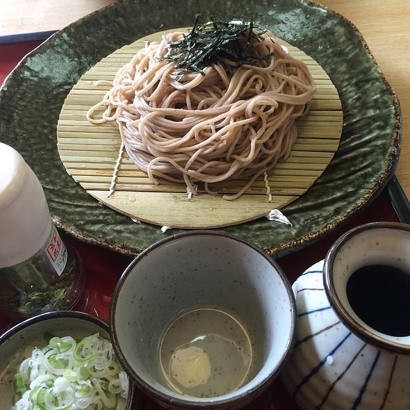 Cold Soba Noodles @ サガミ 長浜店 (Sagami)