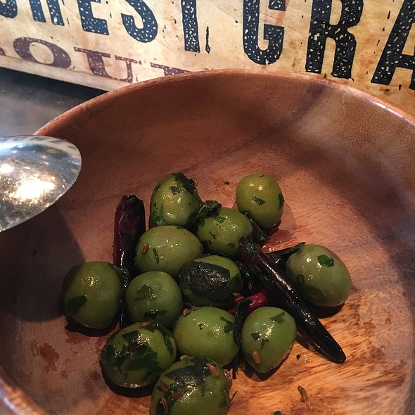 Marinated Olives @ Industriel