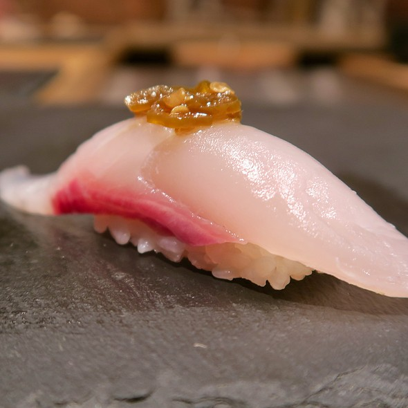 Japanese Amberjack With Shishito Peppers