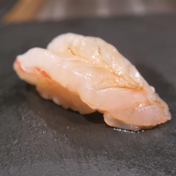 Santa Barbara Sweet Shrimp Sushi
