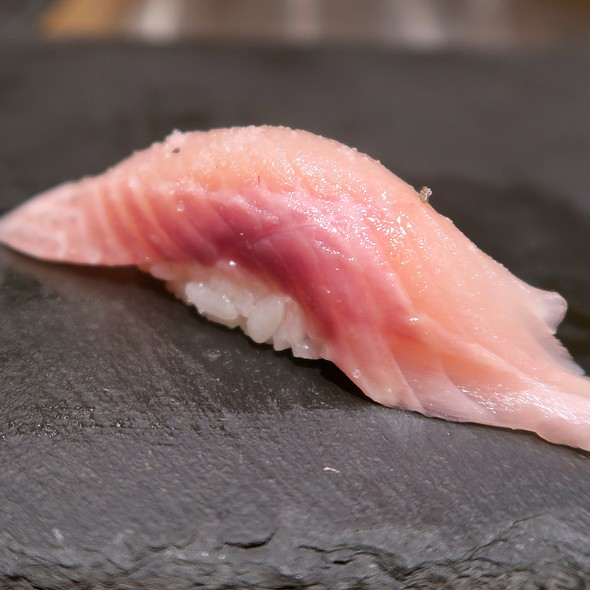 Japanese Cherry Trout With Truffle Salt