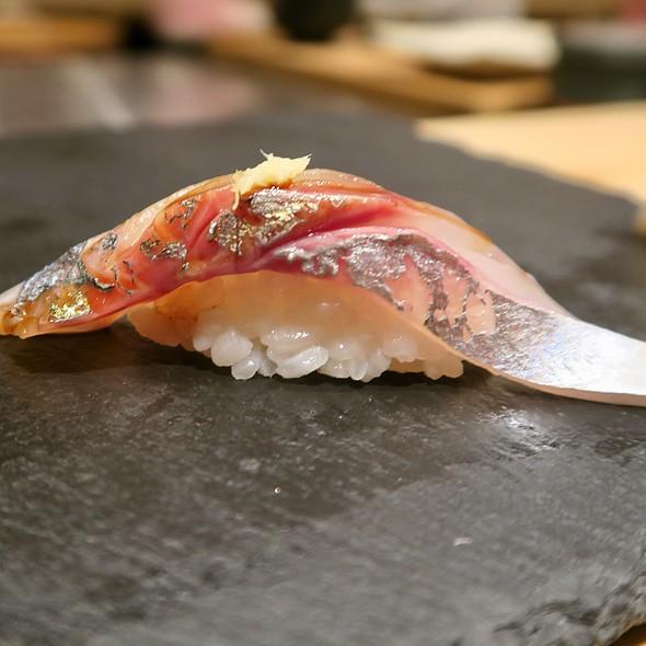 Japanese Horse Mackerel Sushi