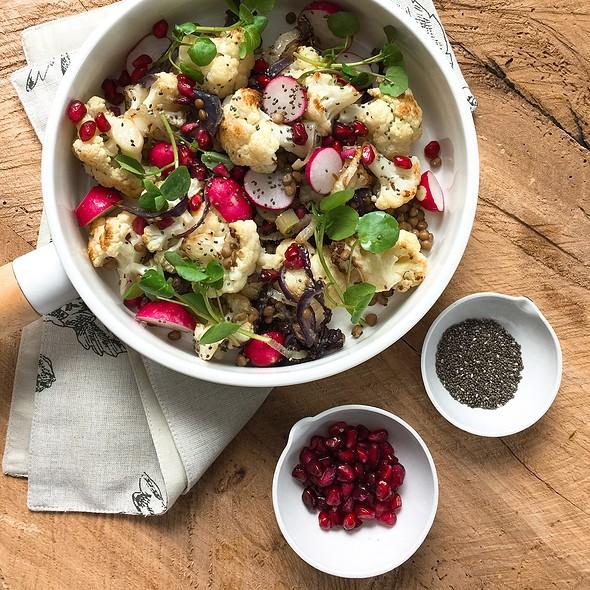 Cauliflower Lentil Salad
