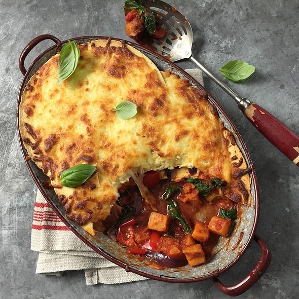 Sweet Potato, Butternut Lasagna
