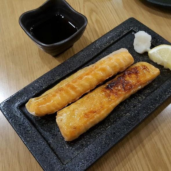 Salmon Belly Yakitori  @ Sushi Ninja