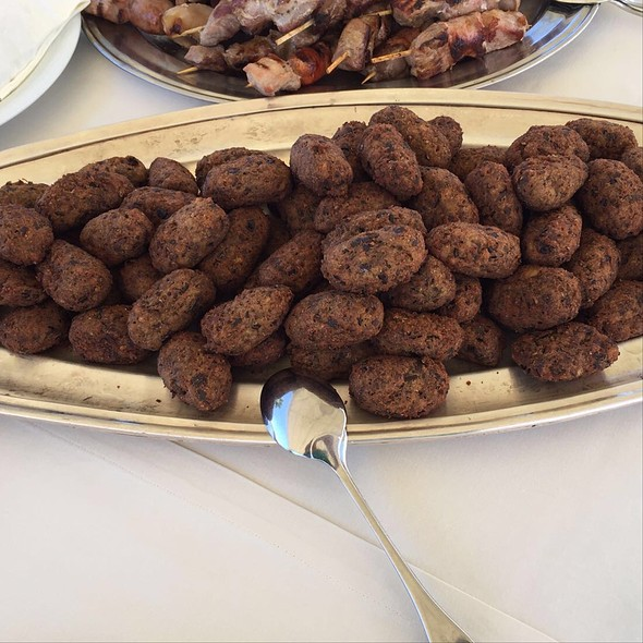 Eggplant 'Meatballs' @ Hotel Valeria Del Mar