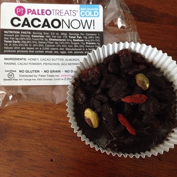 Paleo Treats: Cacao Now