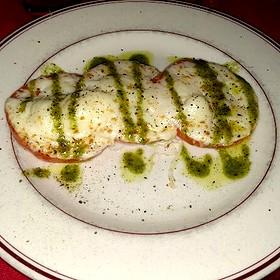 Tomato Caprese Salad - Double Nickel Steak House, Lubbock, TX