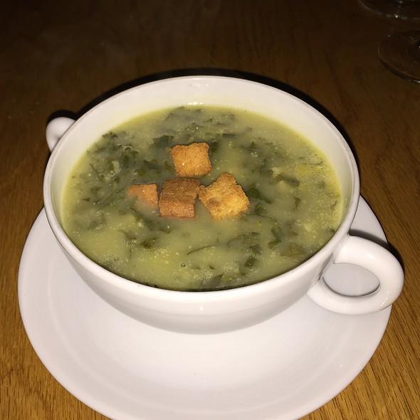 Caldo Verde Soup - 1770 House, East Hampton, NY