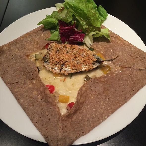 Sardine & Cheese Crepe @ ティ・ロランド 西武渋谷店 (Ti Roland)