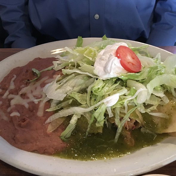 Enchiladas Verdes @ El Tarasco