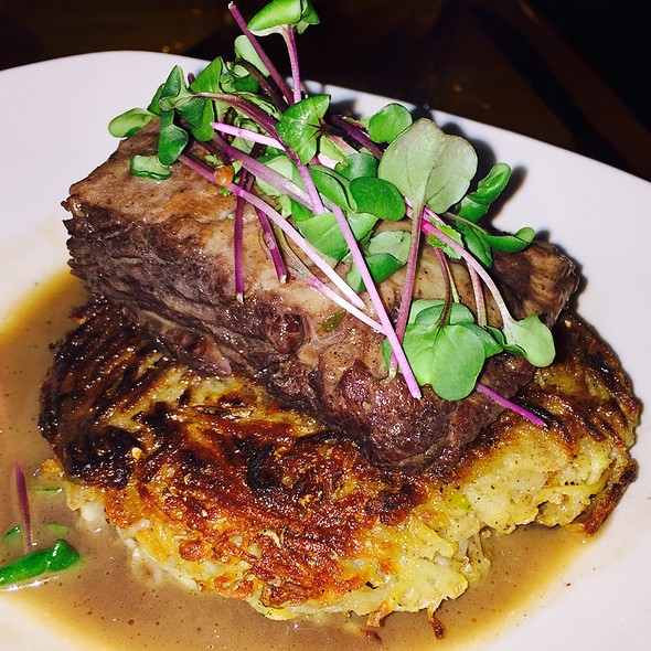 Bison shortrib @ TWO
