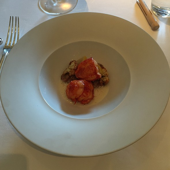 Butter Poached Lobster Tail @ The French Laundry