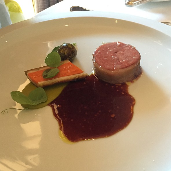 Herb Roasted Elysian Fields Farm Lamb @ The French Laundry