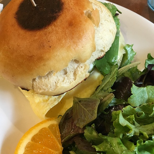 Avocado, Pepperjack And Egg Sandwich @ Sunflower Caffe Espresso & Wine Bar