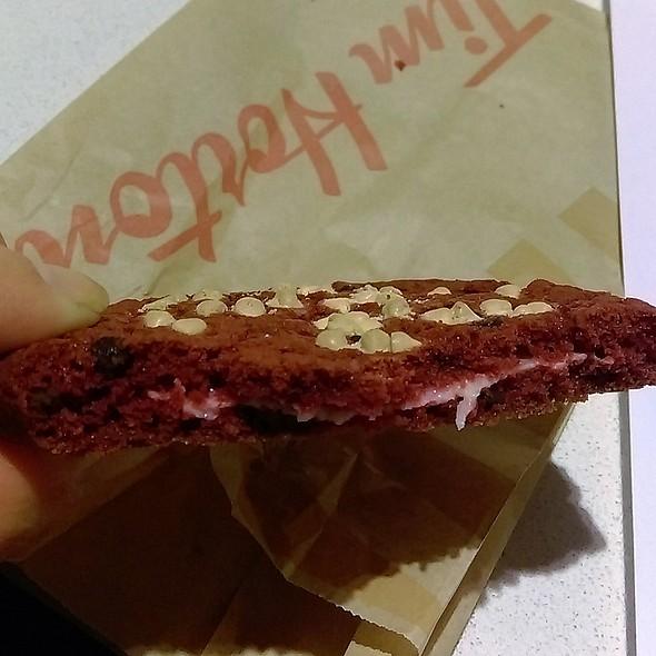 Red Velvet Cookie @ Tim Hortons