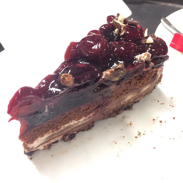Chocolate Cherry Cake @ XXXLutz Restaurant