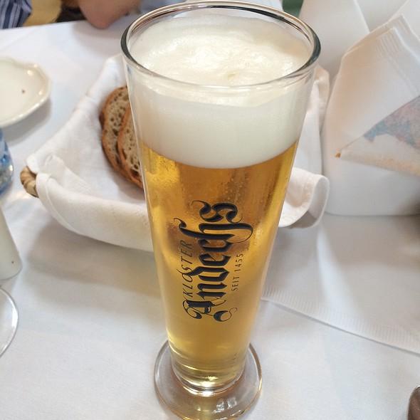 Andechs Monastery Beer @ Klostergasthof Thallern
