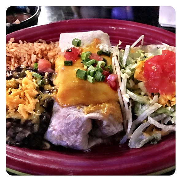 Taco And Burrito @ Front Street Cantina