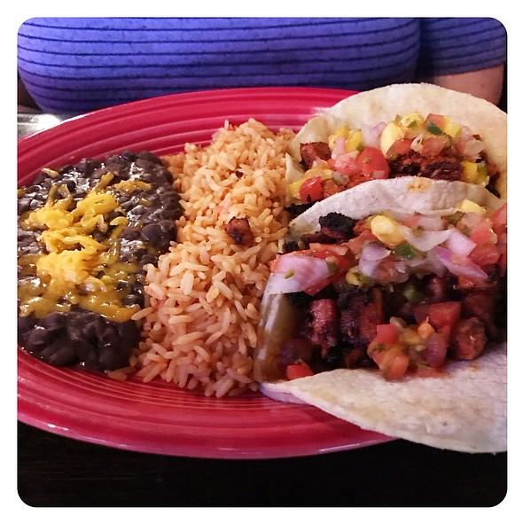 Mango Tacos Al Pastor @ Front Street Cantina