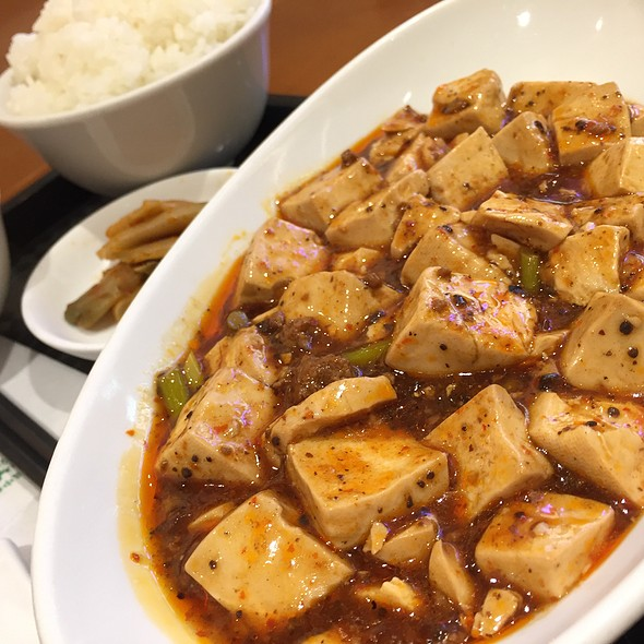 陳マーボー豆腐 Aセット @ 福満園 マークイズみなとみらい店