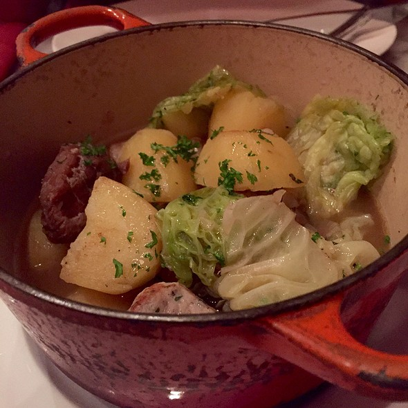Braised Pork Cheek With Savoy Cabbage @ Bistro Du Vin (Zion Road)