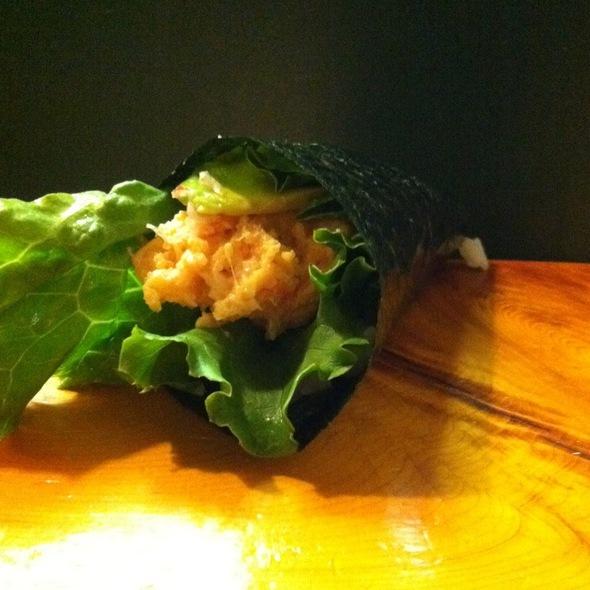 Lobster Handroll @ Uoko Japanese Cuisine
