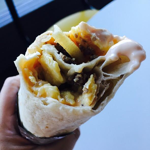 In-N-Out Burrito @ Facebook Headquarters