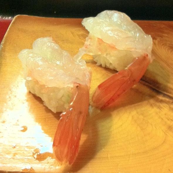 Amaebi Nigiri @ Uoko Japanese Cuisine