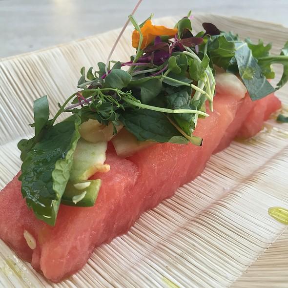 Watermelon Salad @ Wooster's Garden