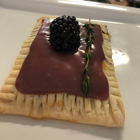 Blackberry Pop Tart