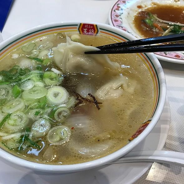 餃子スープ @ 餃子の王将 東神奈川駅西口店
