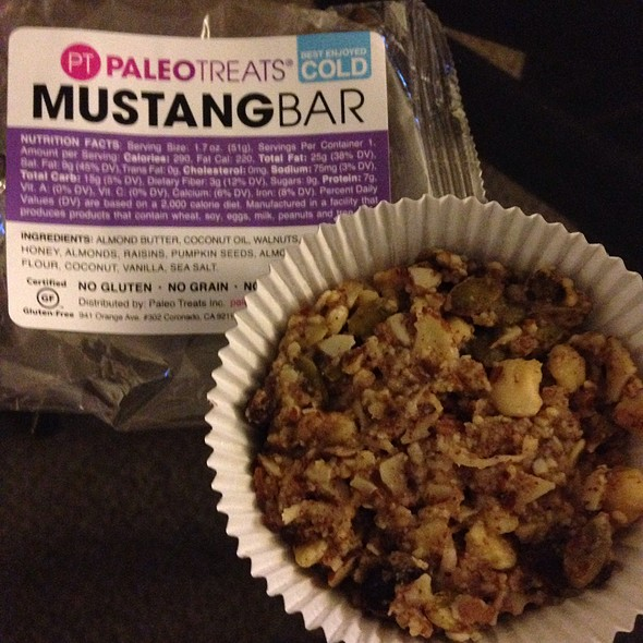 Paleo Treats: Mustang Bar
