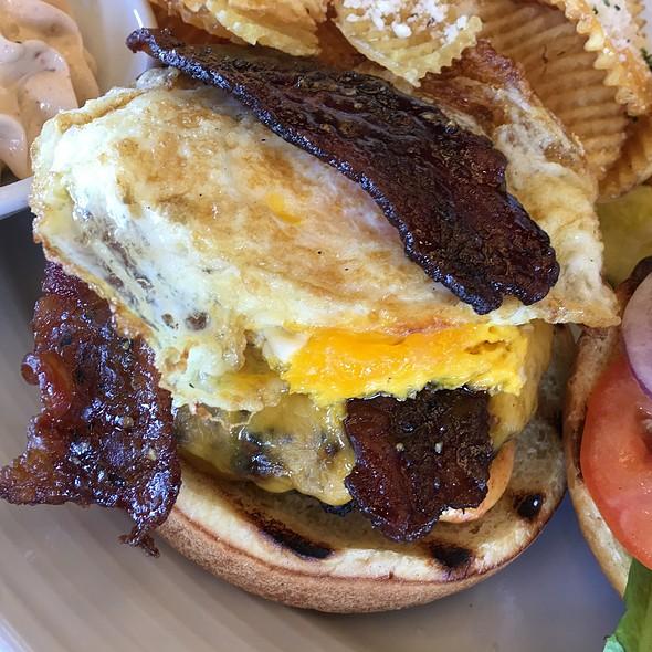 Bourbon Bacon Burger @ Nico's at Pier 38