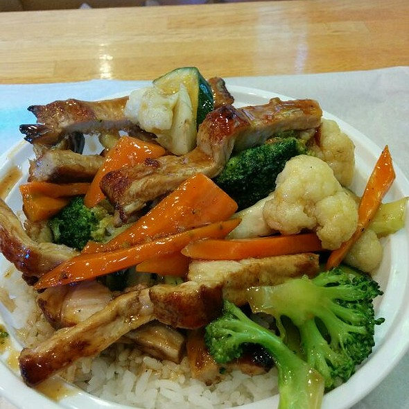 Pork Teriyaki Rice Bowl @ Koko Bakery