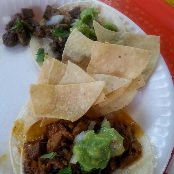 Tacos De Asada @ Hermano's Tacos Shop