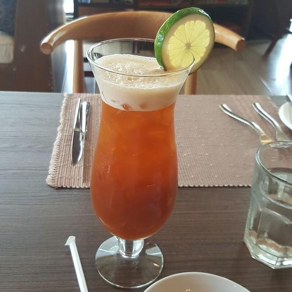 Iced tea @ Highlands Steakhouse
