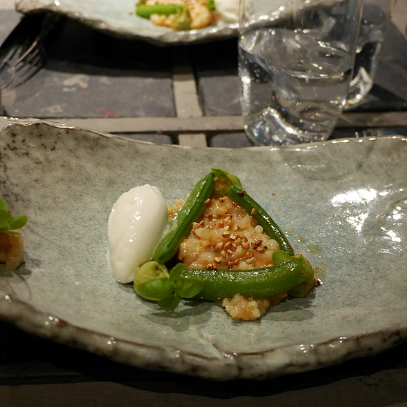 Prawn Tartare, Lemon Sorbet, Avocado @ Bread and Roses