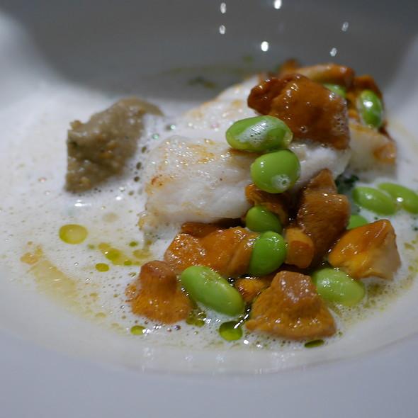 Monkfish, Miso, Eggplant, Chanterelles @ Bread and Roses