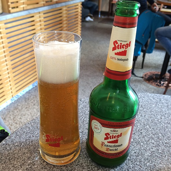 Stiegl Paracelsus Zwickl Beer @ Monte Ofelio