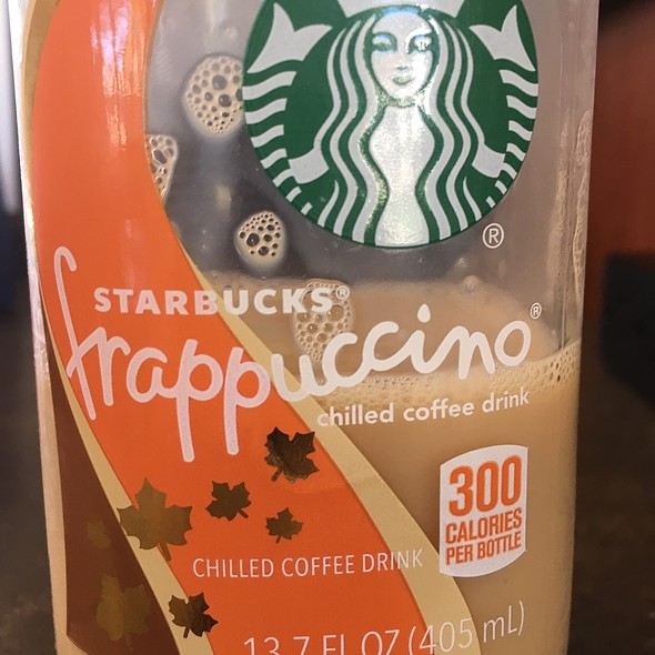 Starbucks Pumpkin Spice Frappuccino @ Kroger's
